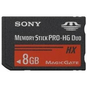 8GB メモリースティック PRO-HG デュオ HX SONY ソニー R:50MB/s 海外リテ...