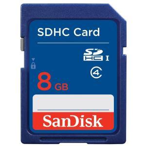 ◇ 【8GB】 SanDisk/サンディスク SDHCカード CLASS4 海外リテール SDSDB-008G-B35 ◆メ|flashmemory