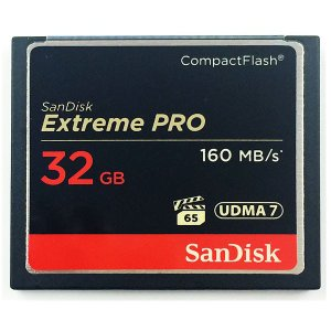 32GB SanDisk/サンディスク コンパクトフラッシュ Extreme Pro 最大160MB...