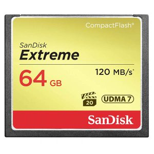 ◇ 64GB SanDisk サンディスク コンパクトフラッシュ Extreme 最大R:120MB s W:80MB s UDMA7対応 海外リテール SDCFXSB-064G-G46 ◆メの商品画像