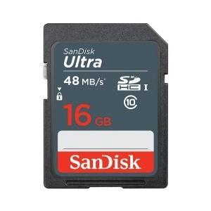 16GB SanDisk サンディスク Ultra SDHCカード UHS-I対応 R:48MB/s 海外リテール SDSDUNB-016G-GN3IN ◆メ|flashmemory