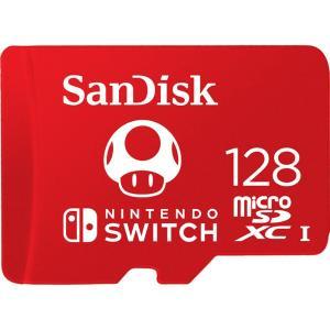 128GB microSDXCカード for Nintendo Switch マイクロSD SanDisk サンディスク UHS-I U3 R:100MB/s W:90MB/s 海外リテール SDSQXAO-128G-GNCZN ◆メ|flashmemory