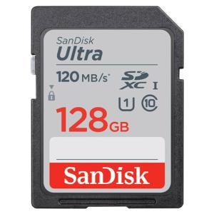 128GB SDXCカード SDカード SanDisk サンディスク Ultra UHS-I U1 R:120MB/s 海外リテール SDSDUN4-128G-GN6IN ◆メ|風見鶏