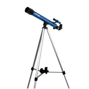 天体望遠鏡 経緯台セット 口径50mm 屈折式 Kenko ケンコー・トキナー 倍率30-300倍 アルミ伸縮三脚付 MEADE AZM-50 ◆宅|flashmemory