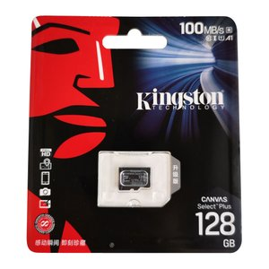 128GB microSDXCカード マイクロSD Kingston キングストン Canvas Select Class10 UHS-1 R:80MB/s SDアダプタ付 海外リテール SDCS-128GB ◆メ|flashmemory