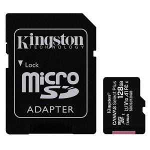 128GB microSDXCカード マイクロSD Kingston キングストン Canvas S...