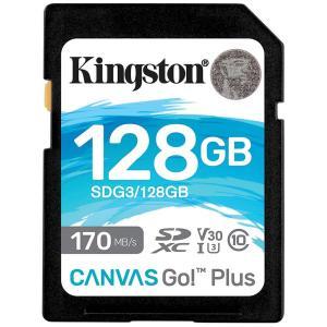 128GB SDXCカード SDカード Kingston キングストン Canvas Go Plus...