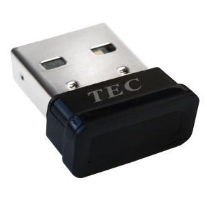 【お使いのPCを安全性が高く、高速な指紋認証ログイン化】 TEC テック Windows10に対応した指紋認証アダプター Windows Hello対応 TE-FPA ◆メ flashmemory