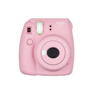 インスタントカメラ チェキ instax mini 8+(プラス) FUJIFILM フジフィルム ストロベリー INS MINI 8PLUS STRAWBERRY ◆宅|flashmemory