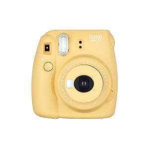 インスタントカメラ チェキ instax mini 8+(プラス) FUJIFILM フジフィルム ハニー INS MINI 8PLUS HONEY ◆宅|flashmemory
