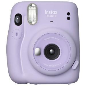 インスタントカメラ チェキ instax mini 11 LILAC PURPLE FUJIFILM...