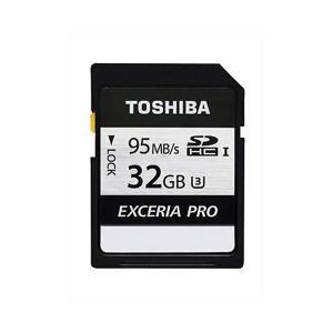 32GB SDHCカード SDカード TOSHIBA 東芝 EXCERIA PRO N401 Class10 UHS-I U3 R:95MB/s W:75MB/s 海外リテール THN-N401S0320A4 ◆メ|flashmemory