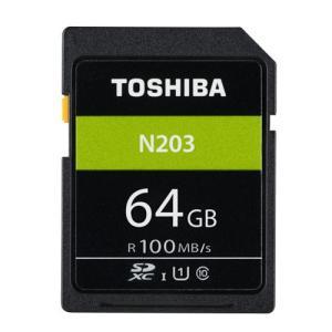 64GB SDXCカード SDカード TOSHIBA 東芝 N203 Class10 UHS-I U...