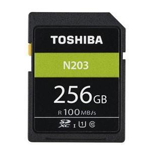 256GB SDXCカード SDカード TOSHIBA 東芝 N203 Class10 UHS-I U1 R:100MB/s 海外リテール THN-N203N2560A4 ◆メ|flashmemory