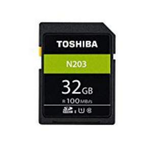 32GB SDHCカード SDカード TOSHIBA 東芝 N203 Class10 UHS-I U...
