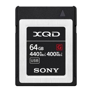 64GB XQD メモリーカード XQDカード SONY ソニー Gシリーズ R:440MB/s W...