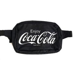 ウエストポーチ Coca-Cola コカ・コーラ ドウシシャ ボディバッグ 大容量26x10x18cm レッド CC18-295W◆宅 flashmemory