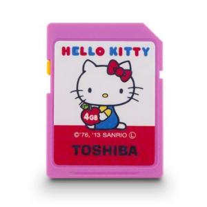 4GB SDHCカード SDカード TOSHIBA 東芝×サンリオ HELLO KITTY ハローキティシリーズ Class4 数量限定品 SD-H04GKT ◆メ flashmemory