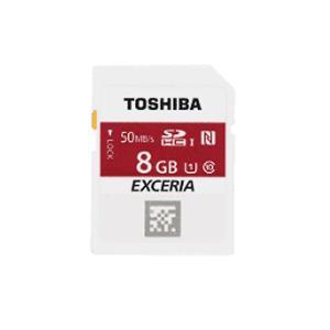 8GB SDHCカード SDカード TOSHIBA 東芝 EXCERIA NFC搭載 Class10 UHS-I R:50MB/s 日本語パッケージ SD-NFC08GB ◆メ|flashmemory