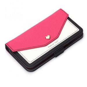 【iPhone8/7/6s/6 ケース】 PGA Premium Style フリップカバー スクエア型ポケット 2重のフリップで収納力アップ ミラー付 ピンク PG-17MFP83PK ◆メ|flashmemory