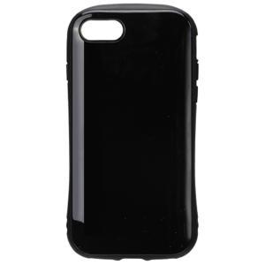 【iPhone8/7 ケース】 ハイブリットタフケース PGA Premium Style 耐衝撃&耐振動設計 カメラレンズ保護ガラス付 ブラック PG-17MPT11BK ◆メ|flashmemory