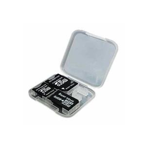 変換アダプタセット microSD対応 4in1 TFTEC 変換名人 microSDカードをminiSD・SD・MSPDに変換 収納ケース付 TF3AD ◆メ|flashmemory