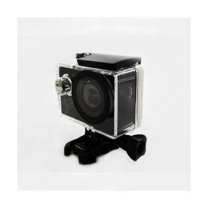 【海に山に川に、アクティブな瞬間をしっかり記録】 REX レックス フルHDアクションカメラ 防水ケース/取付器具付属 RAC100HD-BK ◆宅|flashmemory