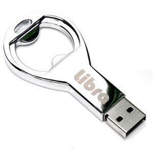 栓抜きカードリーダー microSD専用 USB2.0 亜鉛合金素材 microSDXC対応 栓抜きとカードリーダーが夢の合体 Libra LBR-USBop ◆メ flashmemory