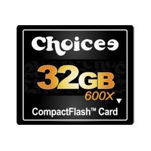 32GB Choicee/チョイシー コンパクトフラッシュ 600倍速 海外リテール CHOI32GCF600 ◆メ|flashmemory