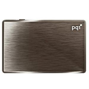◇ 【16GB】 PQI ワイヤレスストレージ(Wi-Fiカードリーダー) Air Drive A100 ブラック SDHCカード16GB同梱 RD01-AG01 ◆メ flashmemory