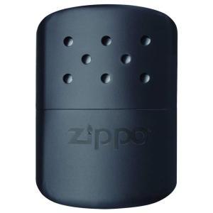 携帯カイロ ハンディウォーマー Zippo ジッポーオイル充填式(ジッポーライターオイル別売) 真鍮製 ZIPPO HANDY WARMER ブラック 40501 ◆宅|風見鶏