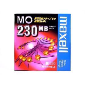 MOディスク 230MB maxell マクセル 3.5インチ アンフォーマット 1枚 ケース入り MA-M230.B1P ◆メ flashmemory