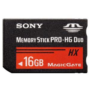16GB SONY/ソニー メモリースティック PRO-HG デュオ HX 最大R:50MB/s 海外リテール品 MS-HX16B/T1 ◆メ|flashmemory