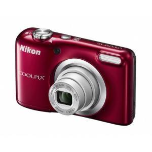 コンパクトデジタルカメラ COOLPIX A10 Nikon ニコン 1614万画素 光学5倍ズーム 単3形電池式 レッド COOLPIXA10RD ◆宅|flashmemory