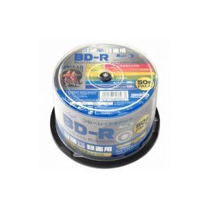 BD-R 6倍速 50枚パック 25GB HI-DISC ハイディスク ホワイトプリンタブル スピン...
