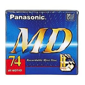 MDディスク ミニディスク 録音用 74分 Panasonic パナソニック 高耐衝撃設計 AY-M...