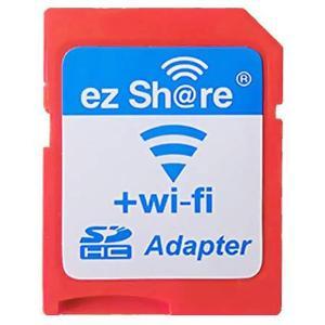 ezShare Wi-Fi SDアダプター マイクロSDを簡単Wi-Fi接続 Class10 4GB-32GB対応 ES-WiFiSD-ADP ◆メ|flashmemory