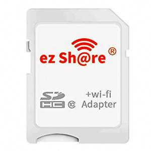 スマホに写真をワイヤレス転送 ezShare Wi-Fi SDアダプター microSDHC(8GB-32GB)サポート ES-WiFiSD-ADP ◆メ|flashmemory