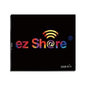 32GB ezShare Wi-Fi機能搭載CFカード コンパクトフラッシュ Android / iOS両対応 海外リテール Wi-FiCF-32G ◆メ|flashmemory