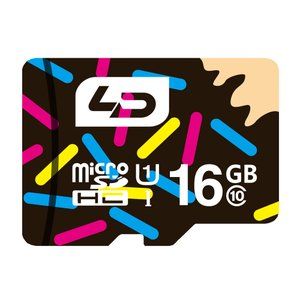 16GB LD microSDHCカード Class10 UHS-I対応 高速転送 R:最大70MB/s 日本語パッケージ LD-MSD16GC10U1 ◆メ|flashmemory