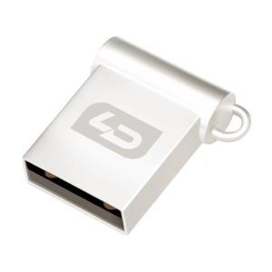 ◇ 【32GB】 LD USBメモリー V08 USB2.0 超小型 亜鉛合金デザイン キーチェーン付 日本語パッケージ LD-UFD32GV08U20 ◆メ