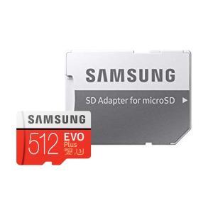 512GB microSDXCカード マイクロSD Samsung サムスン EVO Plus Cl...