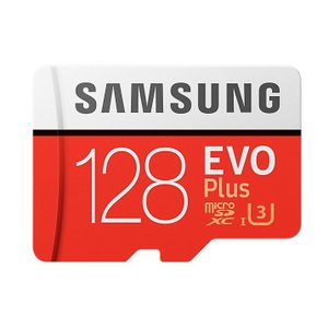 ◇ 【128GB】 Samsung サムスン microSDXCカード EVO Plus Class10 UHS-I U3 R:100MB/s W:90MB/s 海外リテール MB-MC128G/CN ◆メ|flashmemory