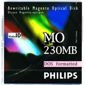 フィリップス 3.5インチ MOディスク (光磁気ディスク) 230MB DOSフォーマット済 PHILIPS 32P-D(230MB DOS)|flashstore