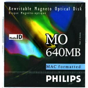 フィリップス 3.5インチ MOディスク (光磁気ディスク) 640MB MACフォーマット済  PHILIPS 34P-M(640MB MAC)|flashstore