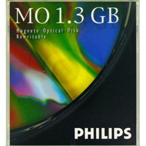 PHILIPS 5.25インチ MOディスク (光磁気ディスク) 1.3GB アンフォーマット 1枚 PHILIPS 62P(1.3GB)|flashstore