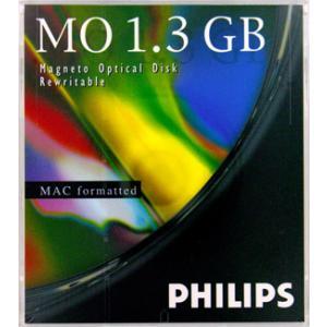 PHILIPS 62P-M  1枚(1.3GB Mac ) 5インチMOディスク Macintoshフォーマット済|flashstore