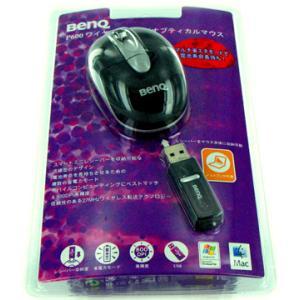 USBワイヤレス オプティカル マウス BenQ P600 (ミニサイズ) シルバー FJ.90A88.UEP【数量限定大幅値下げ!】 flashstore