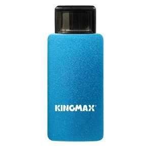 【数量限定☆在庫限り】KINGMAX microUSBポート用 リーダライタ USB2.0メモリ PJ-01 8GB ブルー KM08GPJ01L【メール便対象商品合計2個までOK】|flashstore