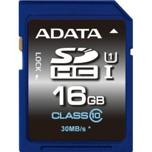 【数量限定☆在庫限り】ADATA SDHCカード Class10 16GB 永久保証 UHS-1対応 ASDH16GUICL10-R【メール便対象商品合計2個までOK】